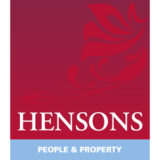 """Hensons"" Estate Agency logo with a white background at a resolution of 300 by 300 pixels"
