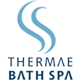 """Thermae Bath Spa"" logo with a white background at a resolution of 300 by 300 pixels"