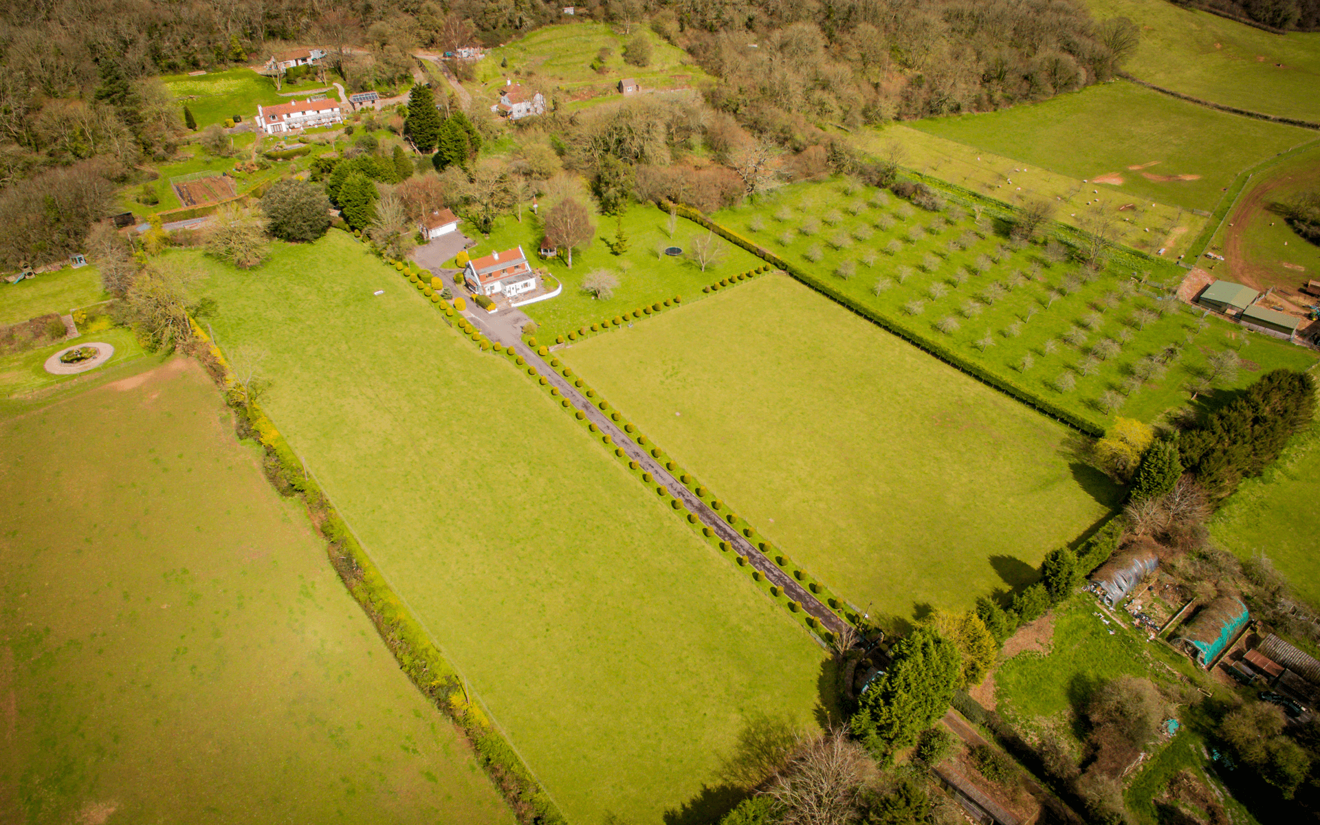 """Mavic Pro"" aerial drone photo of house in Clevedon, Bristol for estate agency"