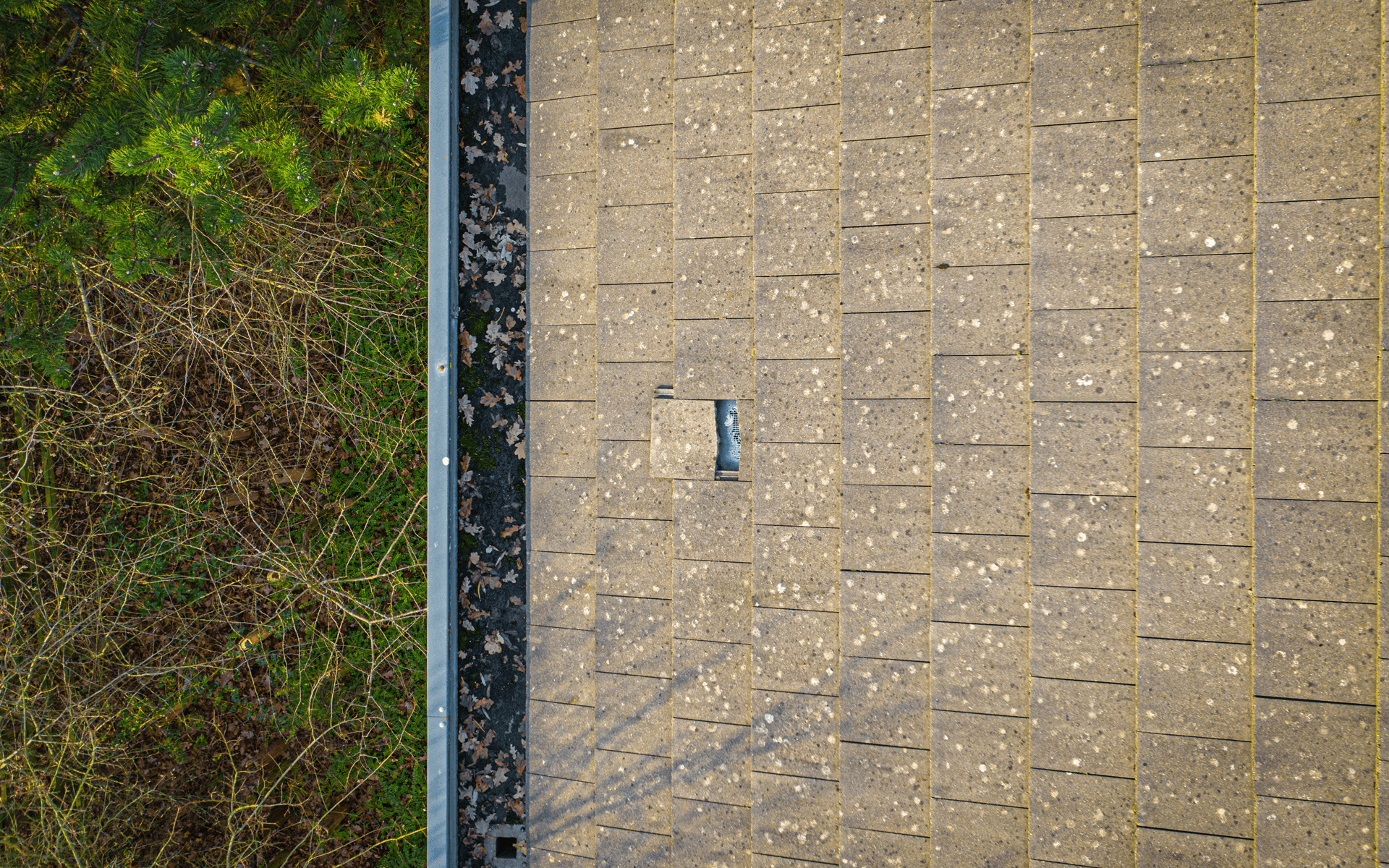 """Mavic 2 Pro"" aerial drone photo for a roof survey of a commercial building at Emersons Green, Bristol"